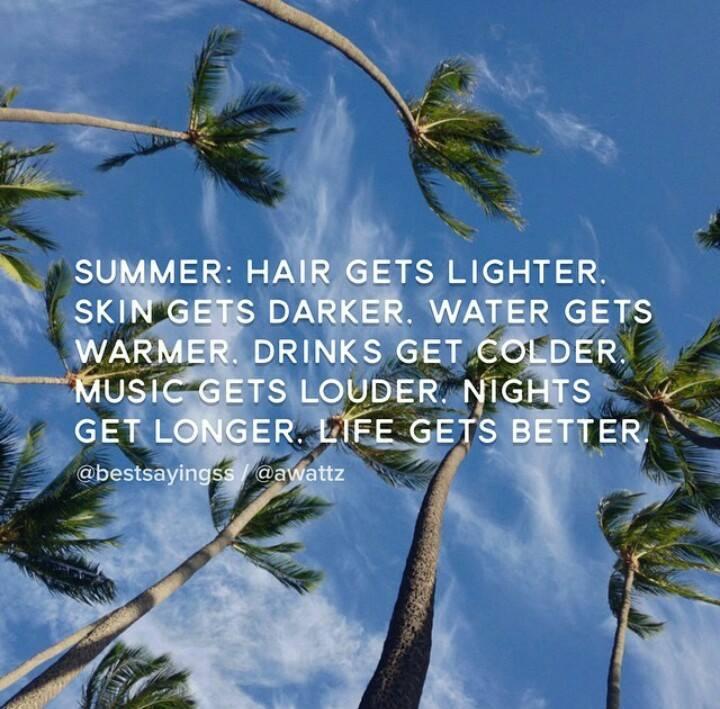 Summer gets better
